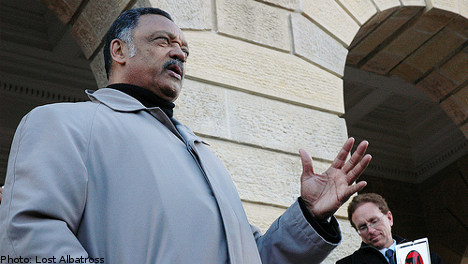 Jesse Jackson: Lund party 'a racist spectacle'