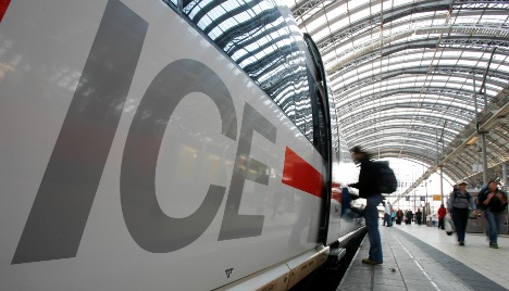 Fire breaks out on high-speed ICE train
