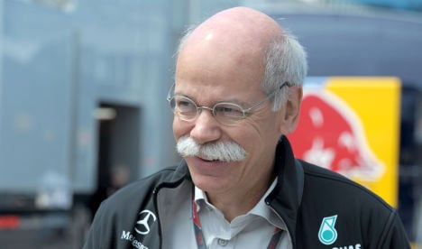 Daimler chides workers who insulted CEO on Facebook
