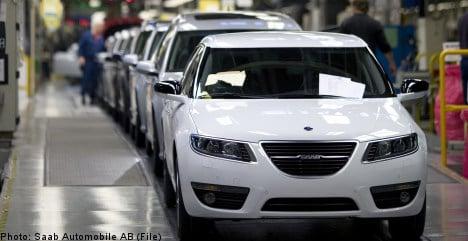 Saab to pay staff after new China order