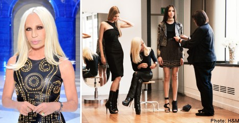 Versace to design H&M's new autumn collection