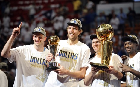 Nowitzki crowns career with NBA championship