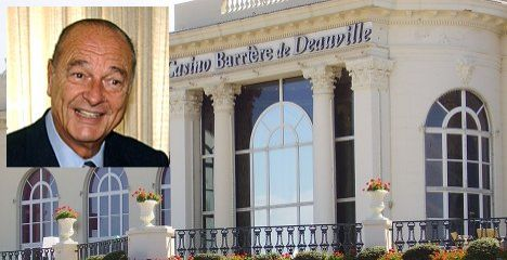 Chirac turned away from Deauville casino