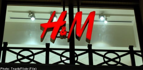 H&M profits down amid 'challenging' conditions