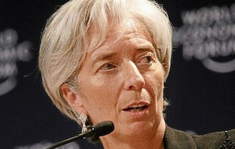 Lagarde named as first female IMF chief