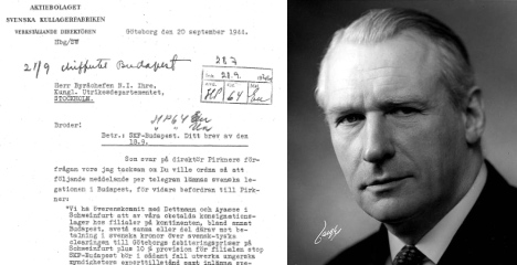 'Swedish shipments to Nazis may have been ransom for captured Swedes'