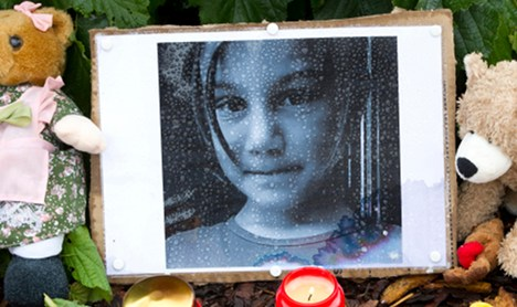 Sadness and anger where little Mary-Jane lived and was killed