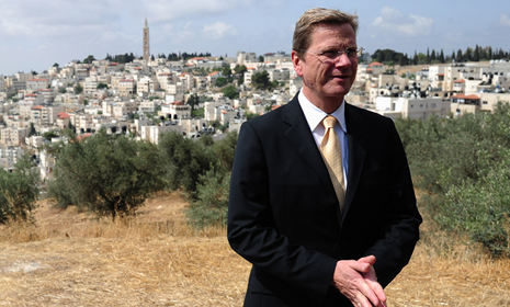 Westerwelle warns of Mideast peace problems