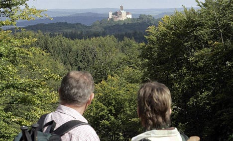 Discovering Germany's oldest hiking trail in Thuringia