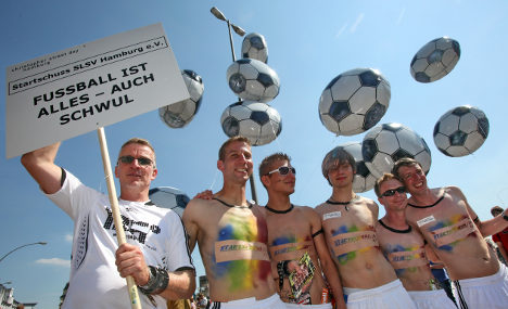 Women's football confronts gay taboos