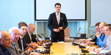 Sweden Democrats fourth largest party: poll