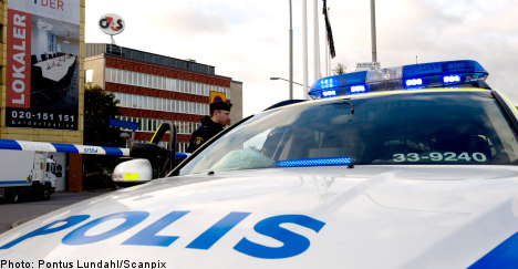 Unusually busy night for Sweden's police force