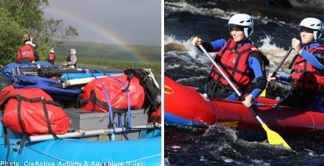 Lapping up Sweden's rivers: rafting in the land of the midnight sun