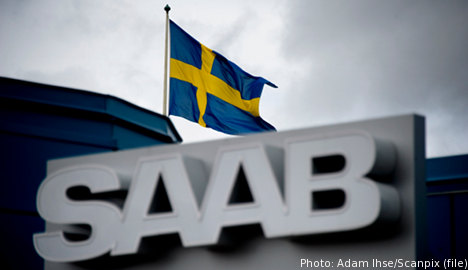 Supplier applies for Saab subsidiary bankruptcy