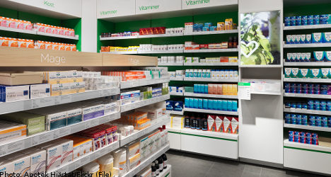 Competition stiff for Sweden's new pharmacies: report