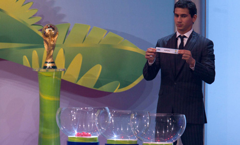 Germany happy with World Cup qualifying draw