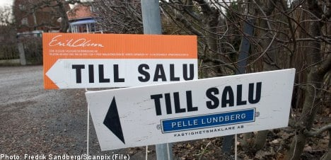 Swedish house prices 'dangerously high': report