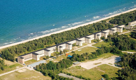 Youth hostel arises in former Nazi holiday resort on Baltic Sea