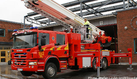Swedish fire service sued over affirmative action