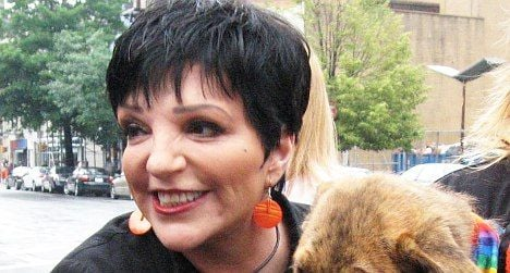 Liza Minnelli awarded French Medal of Honour