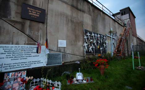 Duisburg mourns Love Parade victims