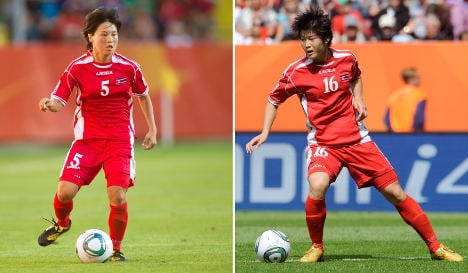 Two North Korean footballers test positive for steroids