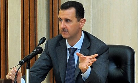 Germany, France and UK tell Syria's Assad to go