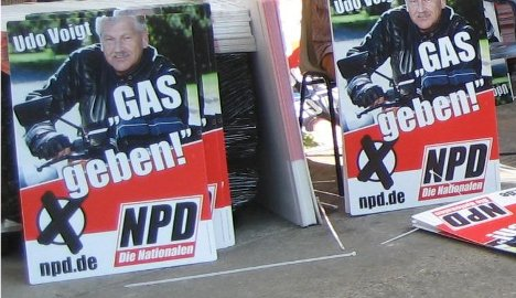 Neo-Nazis slammed for 'gas' campaign poster