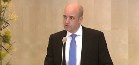 Reinfeldt: eurozone crisis 'of your own making'