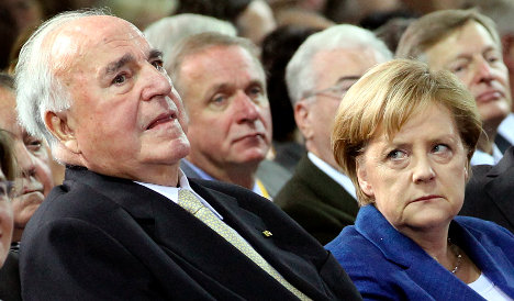 Kohl slams Germany's 'unreliable' foreign policy