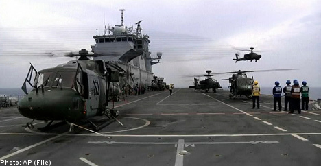 NATO rejects Swedish naval unit offer