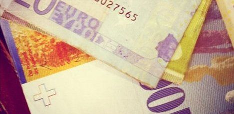 Euro and Swiss franc approach parity