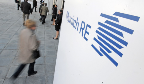 China buying strongly into Munich Re