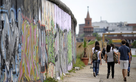 Many eastern Germans sympathize with decision to build Berlin Wall