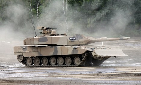Greens sue government over Saudi tank deal