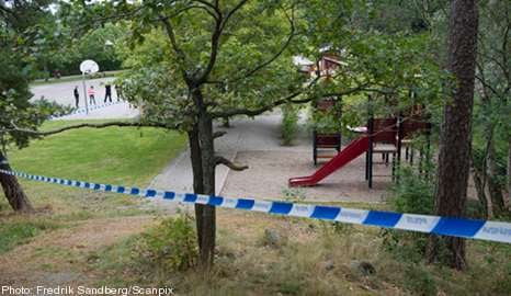 Another suspected bomb found near playground