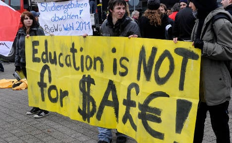 Unpopular tuition fees could soon be history