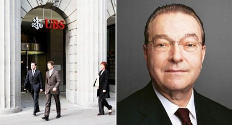 UBS silent on fate of chief executive