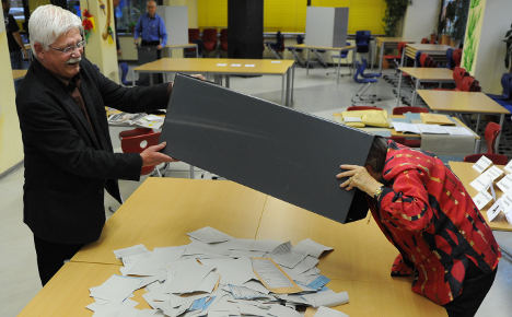 Hundreds of Berlin votes found in a bin