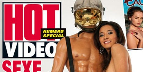 Porn mag gets firemen's hoses in a twist