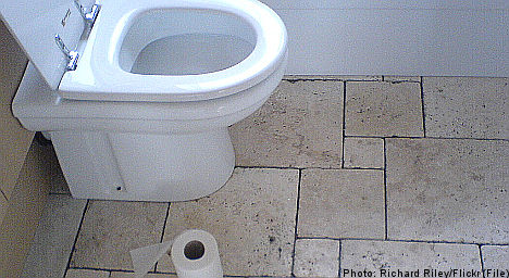 Police officer forgets gun at Ikea toilet