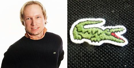 Lacoste to Norway killer: stop wearing our clothes