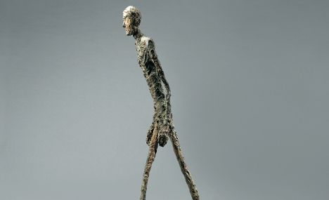 Swiss sculptor Giacometti paired with Etruscans for Paris show