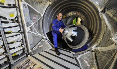 German astronaut picked for space station mission