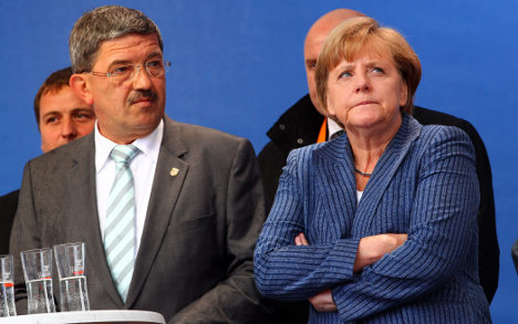 Merkel campaigns to the last in north-east