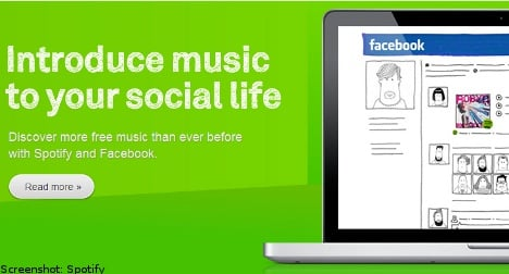 Spotify and Facebook in music partnership
