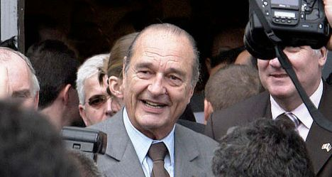 Trial opens for 'medically unfit' Chirac