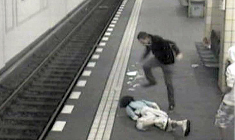 Nearly three years jail for brutal metro attacker