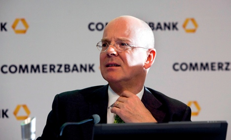 Commerzbank chief predicts more market turbulence