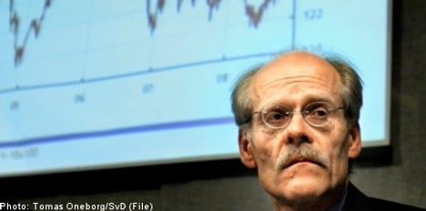 Riksbank leaves repo rate unchanged